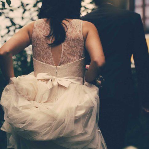 Hochzeit Maria & Stefan Brautkleid in den Weinbergen