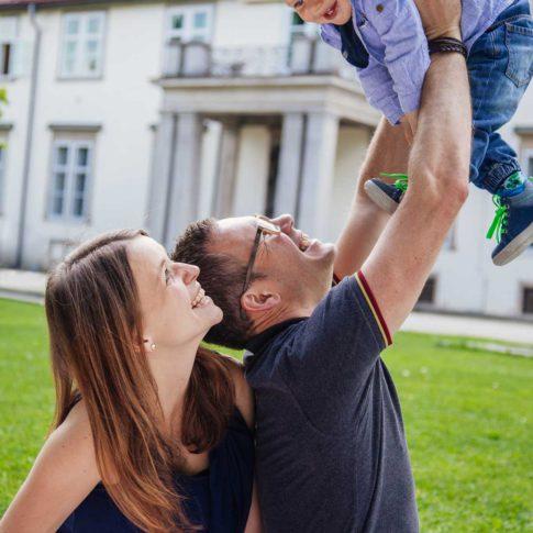 Familienshooting im Burggarten