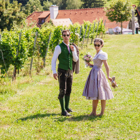 Hochzeit Karo & Herbert im Weingarten