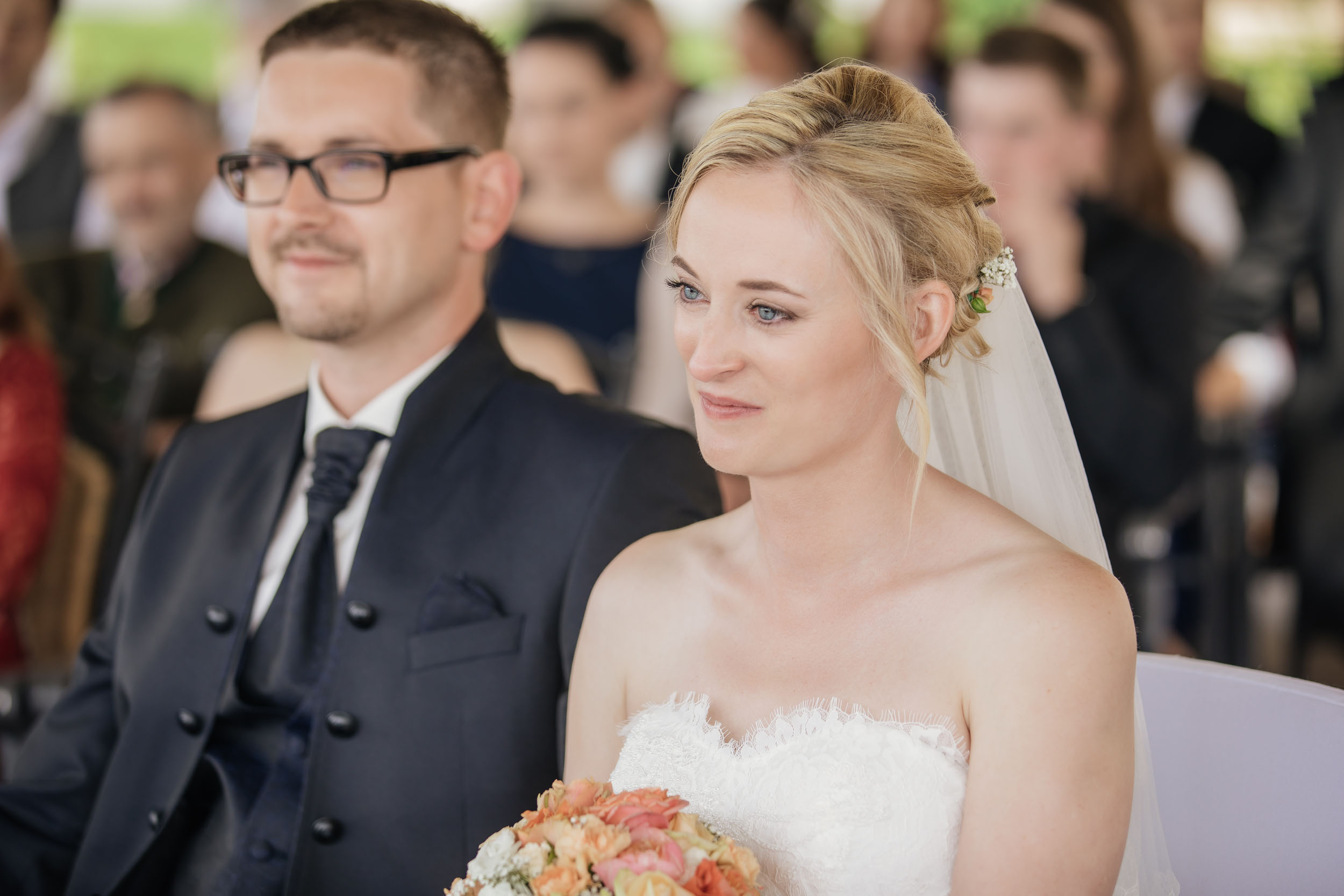 Christine & Robert - Braut Trauung